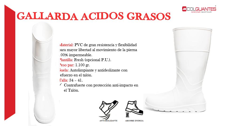 Gallarda acidos grasos