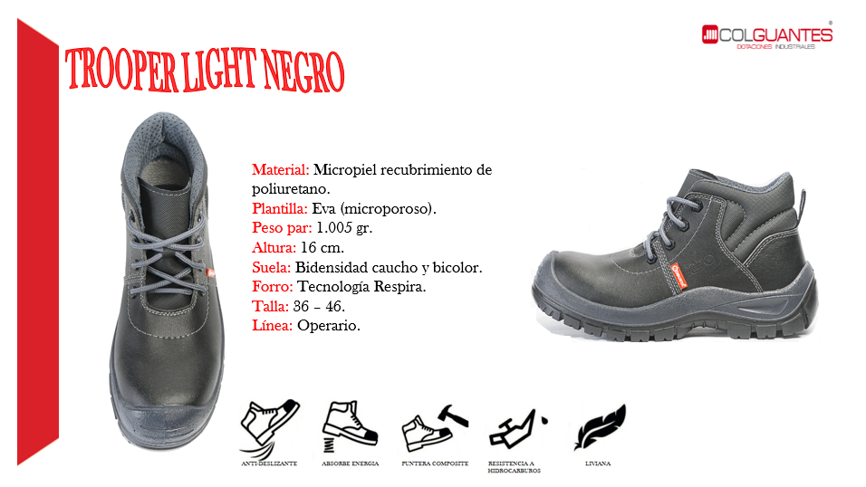 Trooper light negro